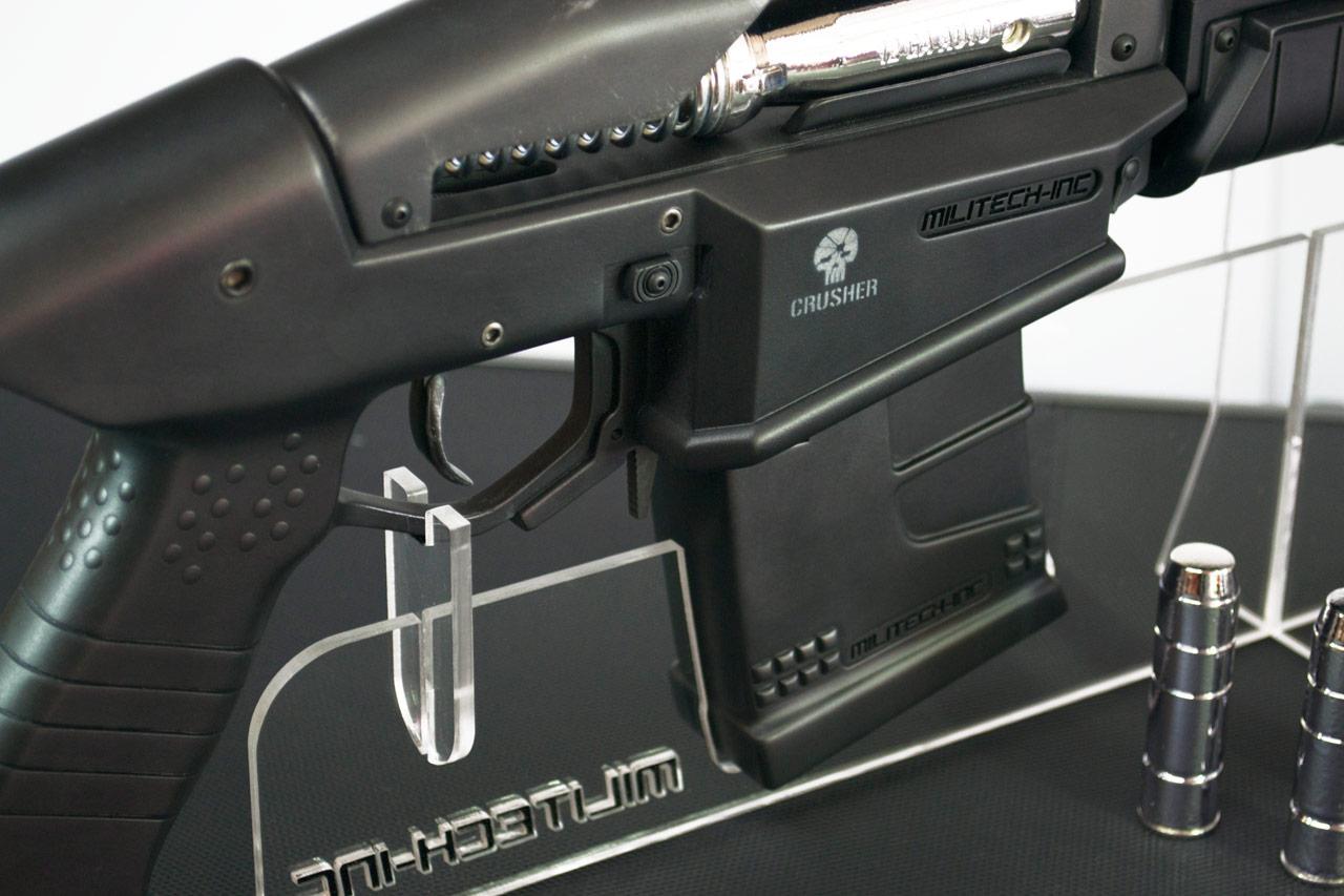 Replika zbraně z traileru Cyberpunk 2077 84284