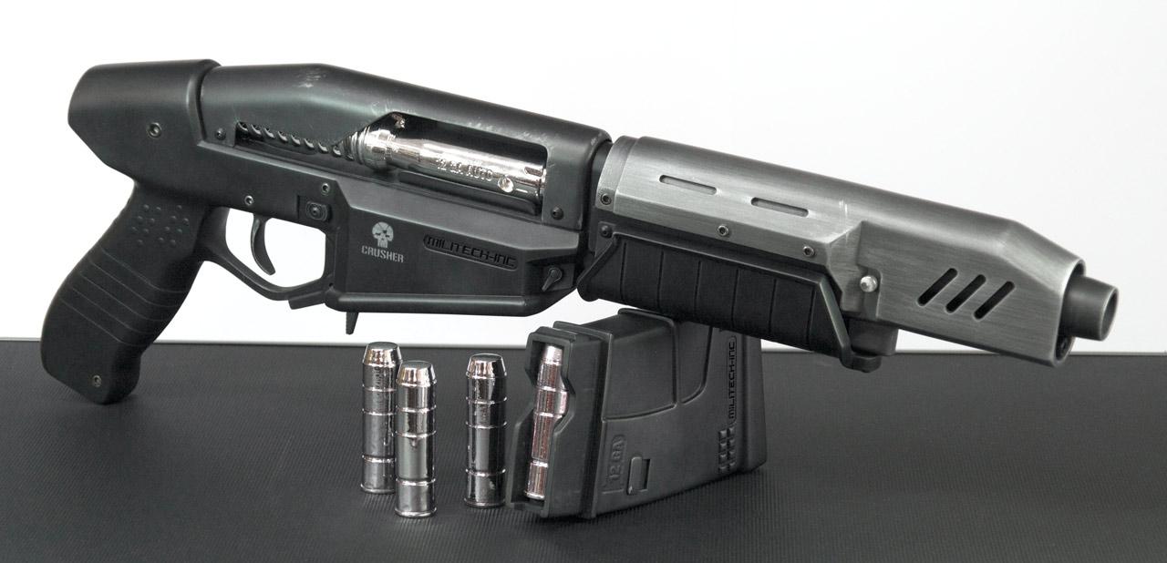 Replika zbraně z traileru Cyberpunk 2077 84285