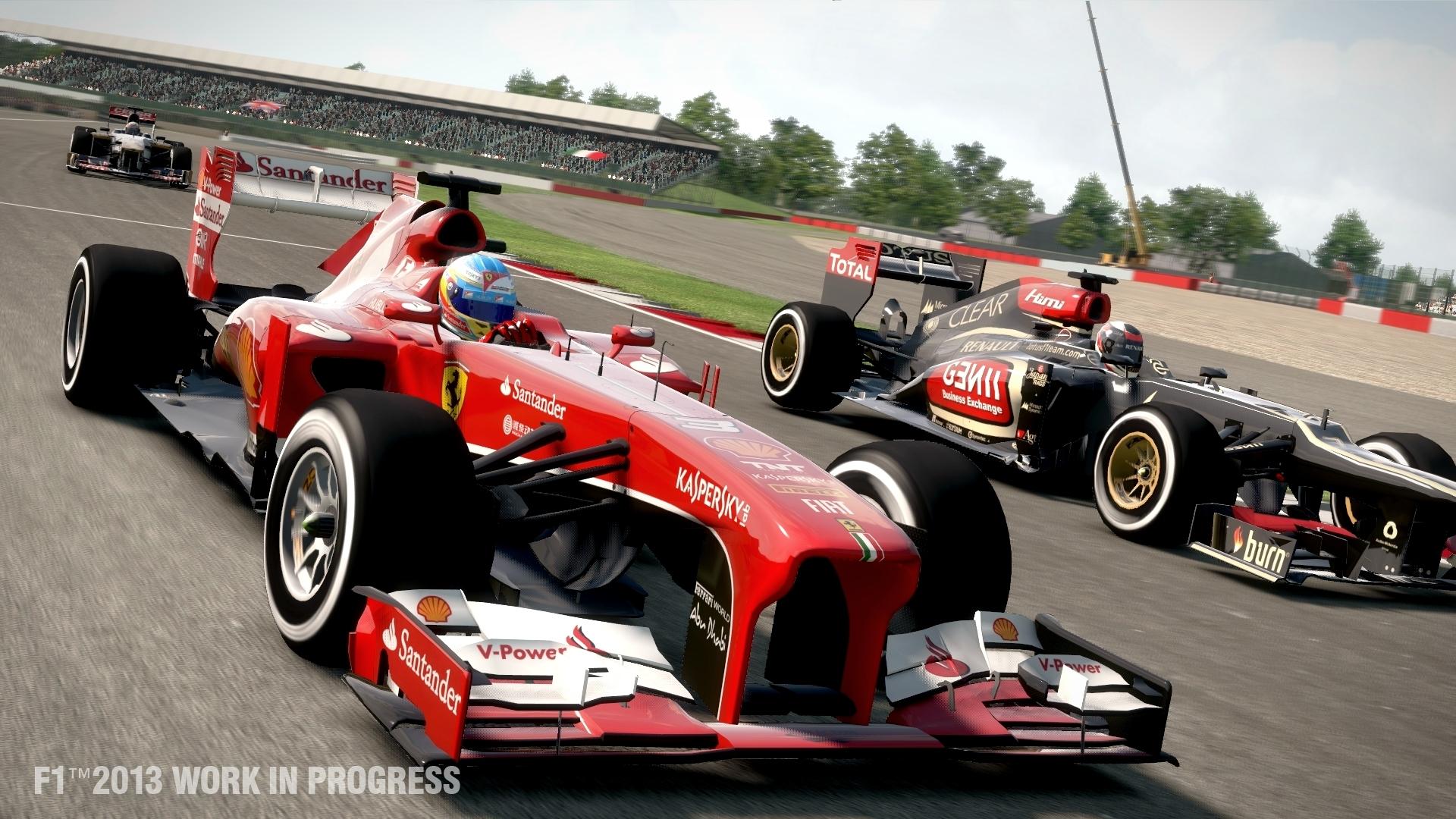 F1 2013 – dokonalejší, zato recyklovanější závody 84667