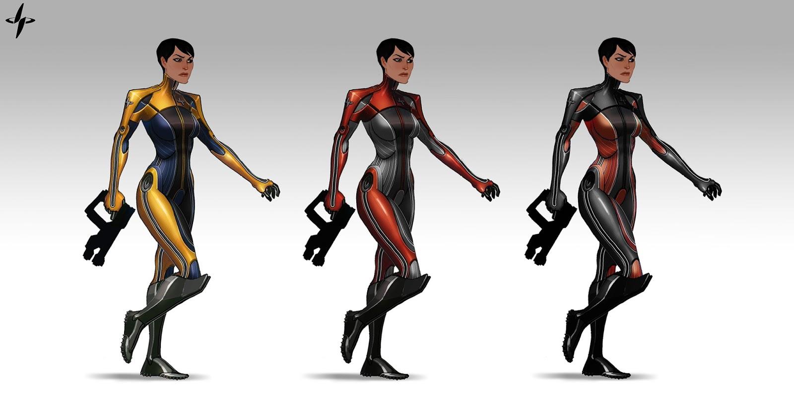 Takhle mohl původně vypadat Mass Effect a Dragon Age 85115