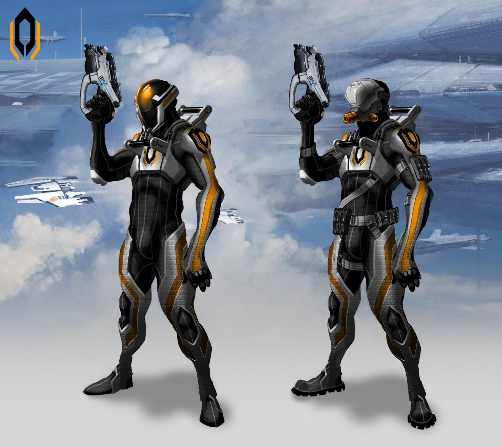 Takhle mohl původně vypadat Mass Effect a Dragon Age 85116