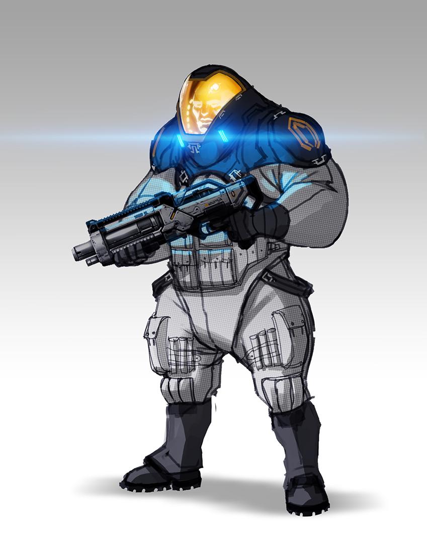 Takhle mohl původně vypadat Mass Effect a Dragon Age 85118