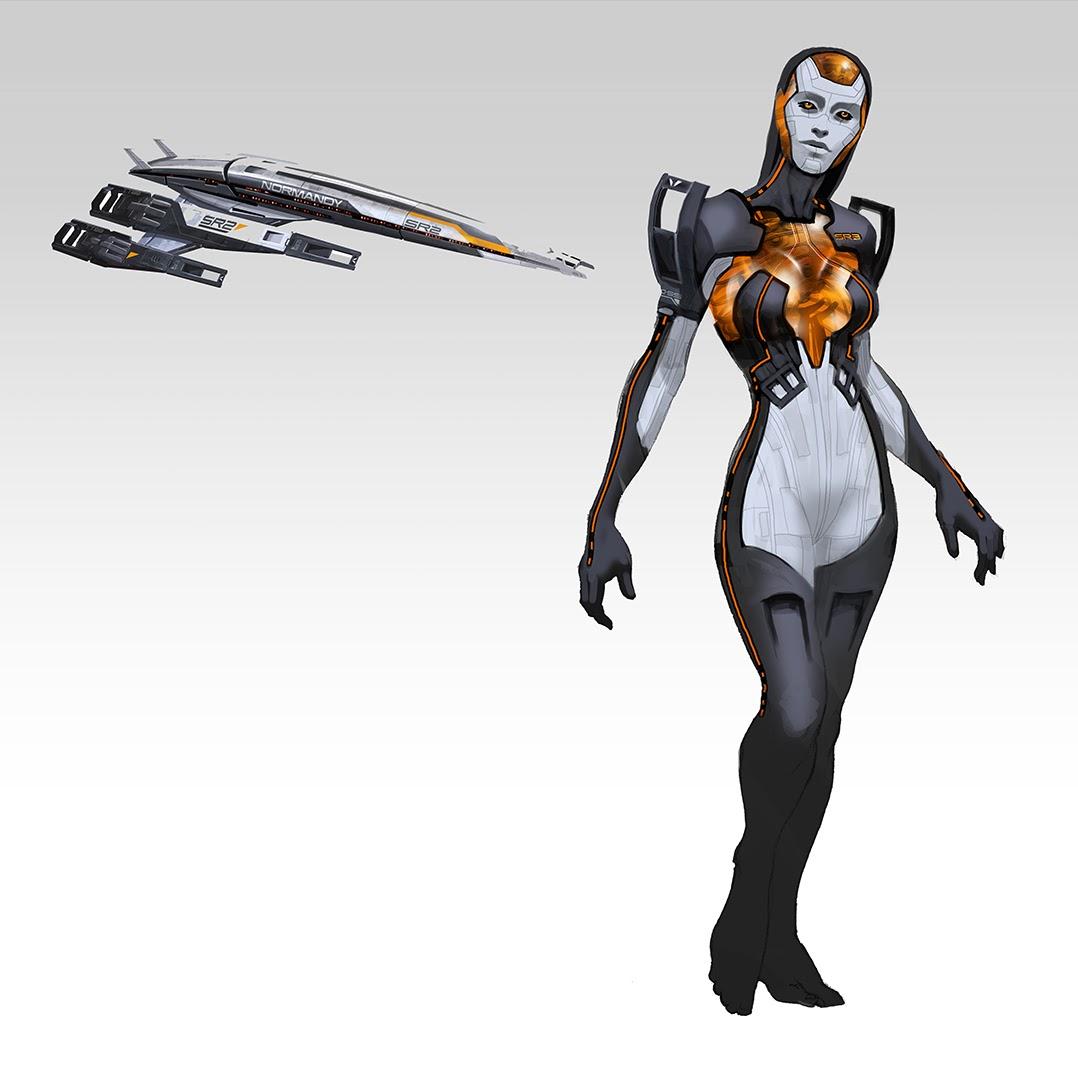 Takhle mohl původně vypadat Mass Effect a Dragon Age 85125