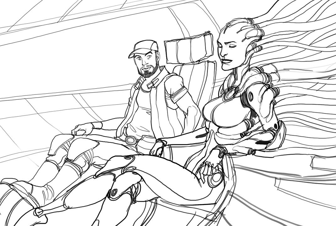 Takhle mohl původně vypadat Mass Effect a Dragon Age 85126