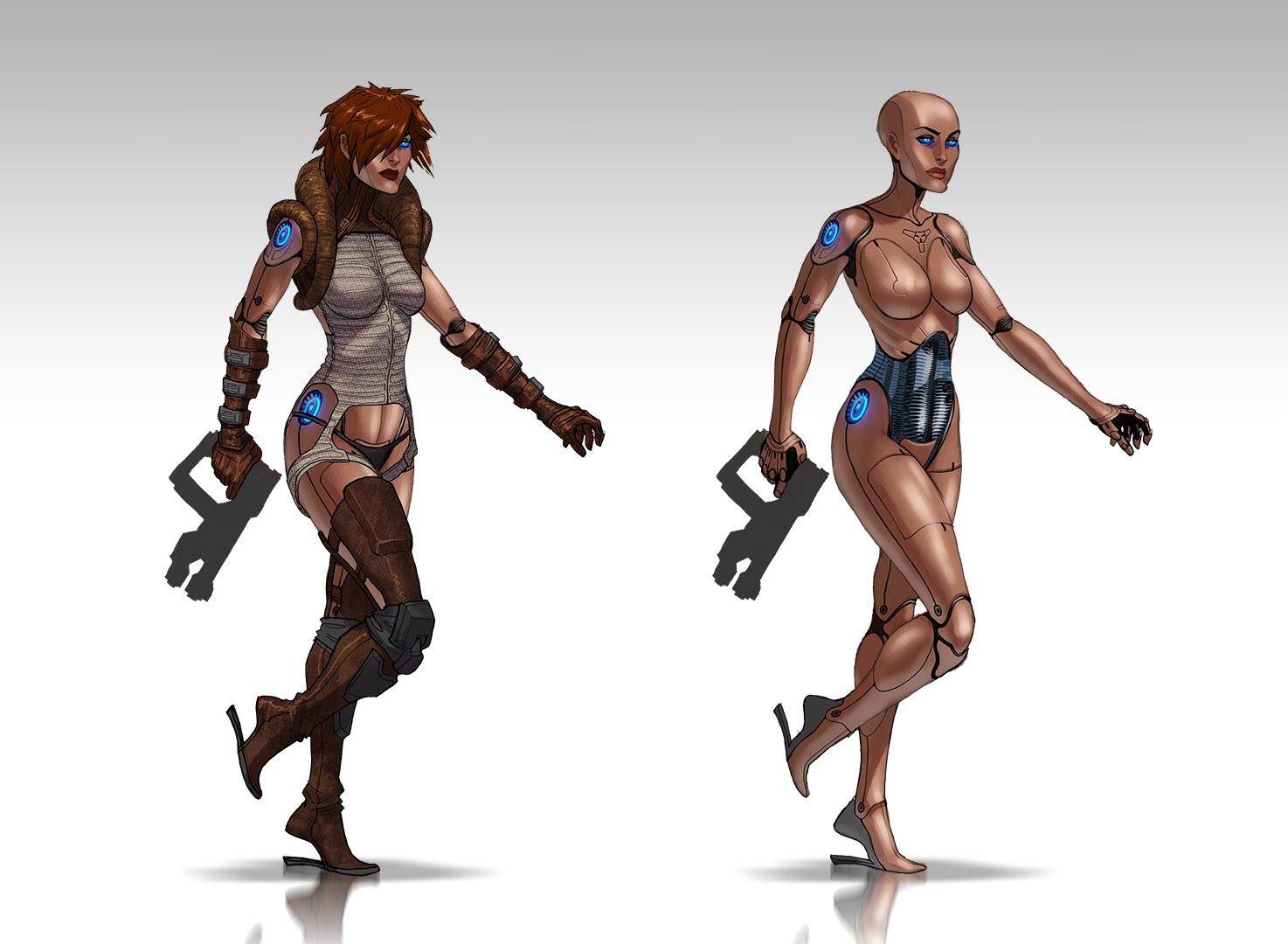 Takhle mohl původně vypadat Mass Effect a Dragon Age 85127
