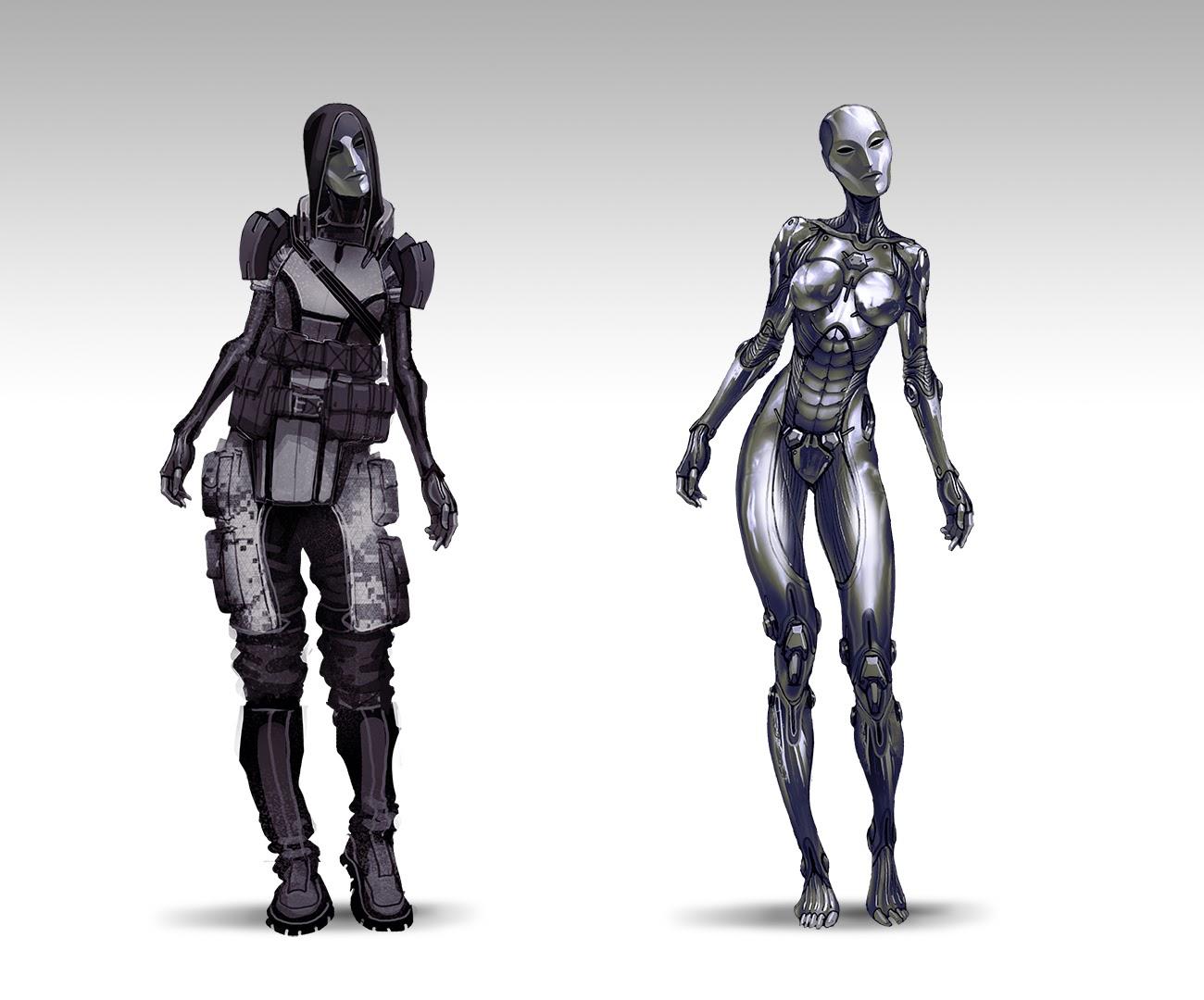 Takhle mohl původně vypadat Mass Effect a Dragon Age 85128