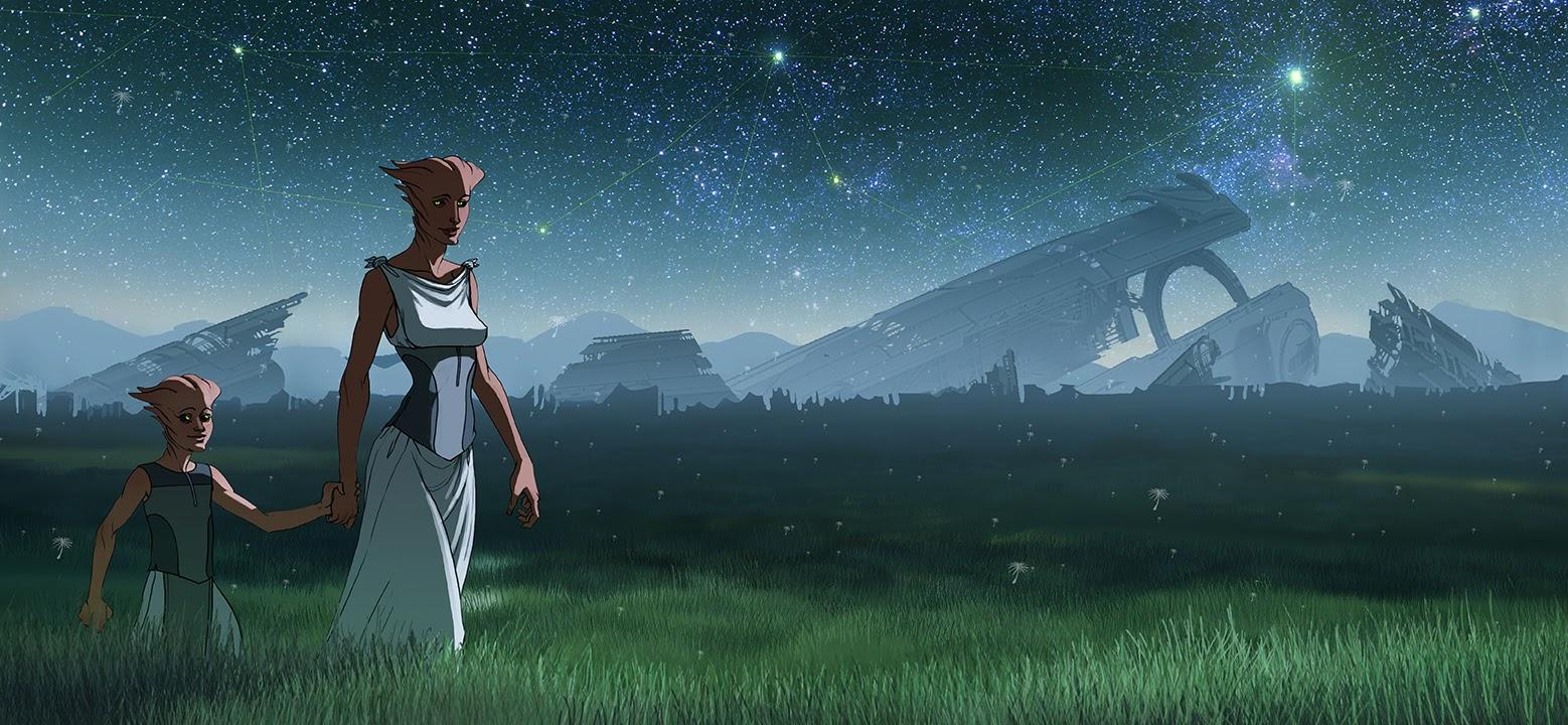 Takhle mohl původně vypadat Mass Effect a Dragon Age 85134