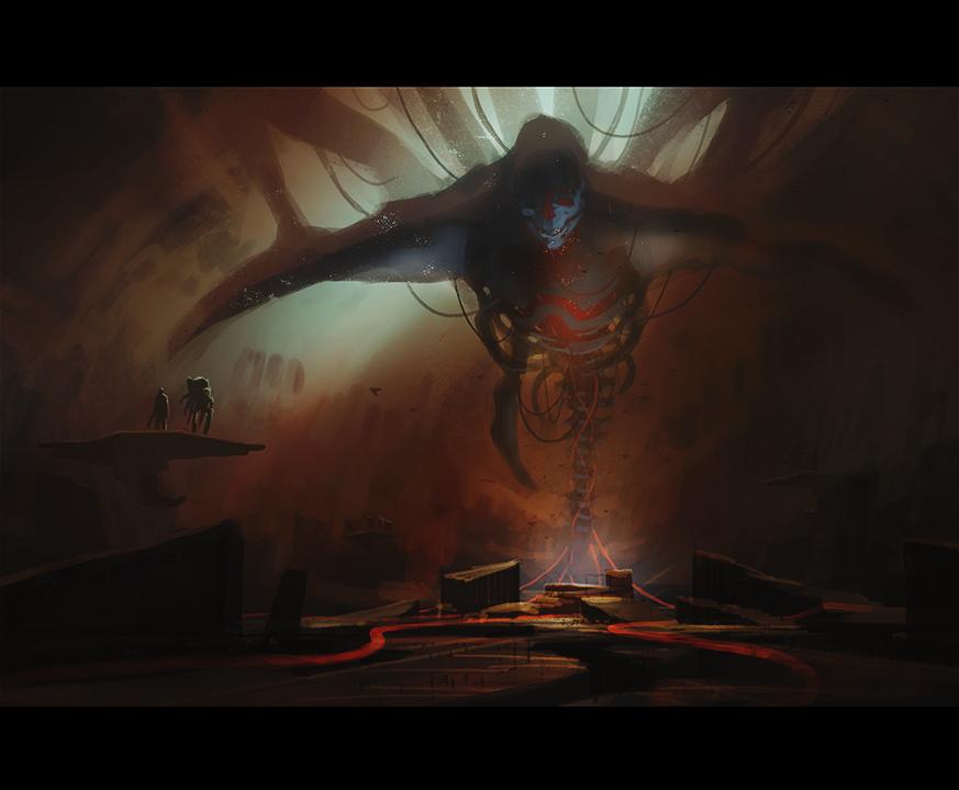 Takhle mohl původně vypadat Mass Effect a Dragon Age 85138