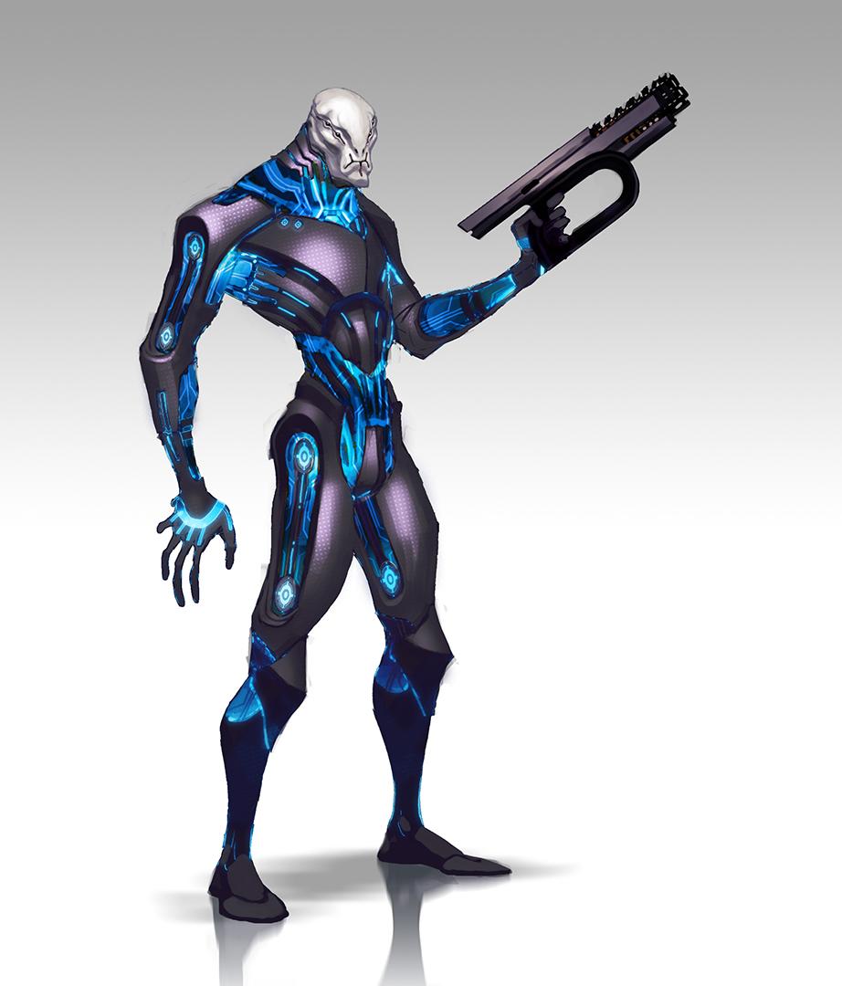 Takhle mohl původně vypadat Mass Effect a Dragon Age 85150