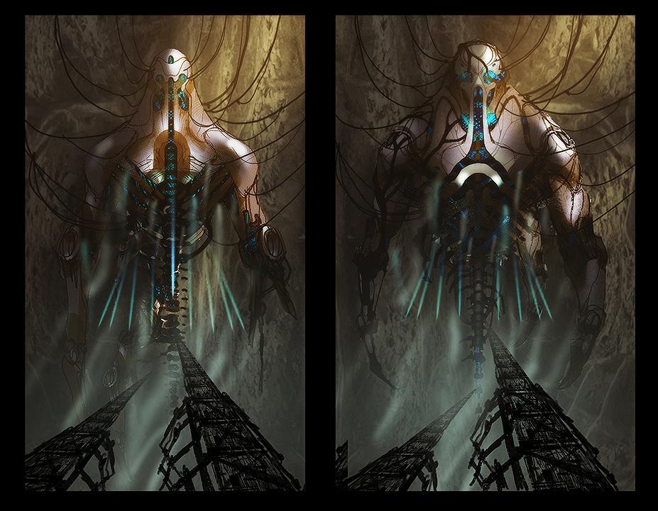 Takhle mohl původně vypadat Mass Effect a Dragon Age 85154