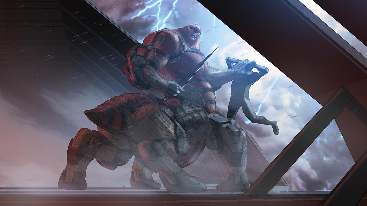 Takhle mohl původně vypadat Mass Effect a Dragon Age 85160