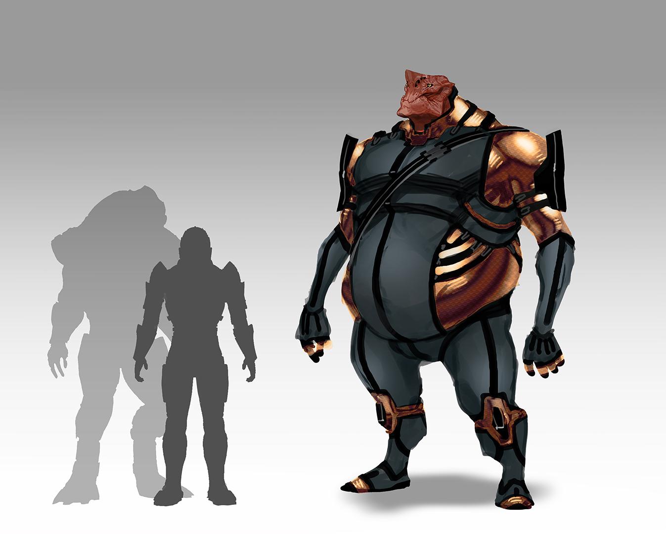 Takhle mohl původně vypadat Mass Effect a Dragon Age 85162