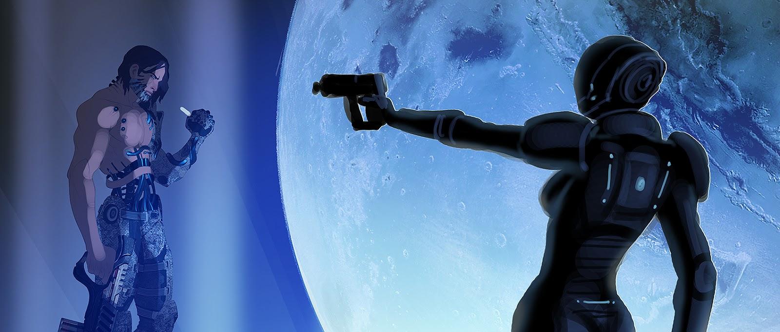 Takhle mohl původně vypadat Mass Effect a Dragon Age 85163