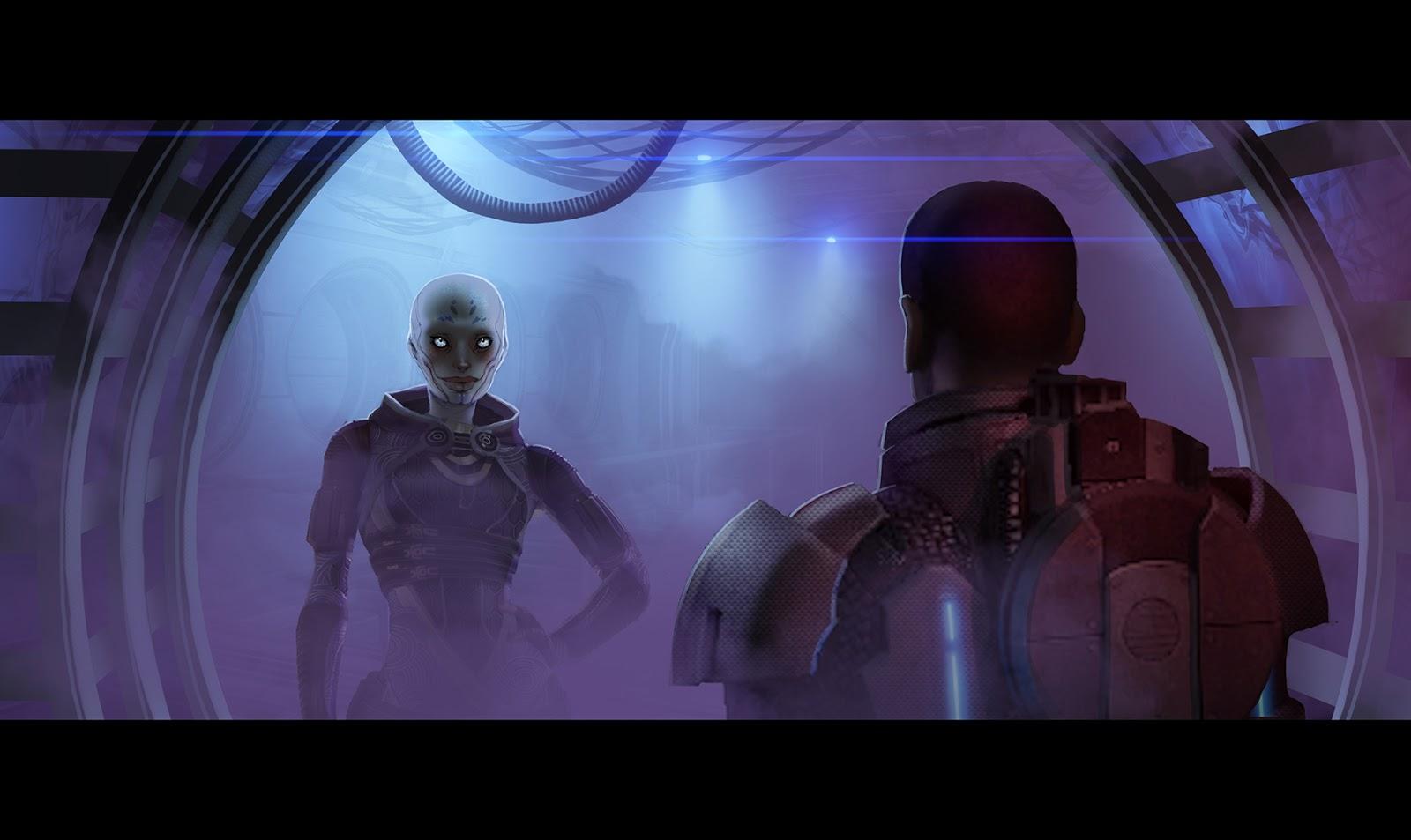 Takhle mohl původně vypadat Mass Effect a Dragon Age 85166