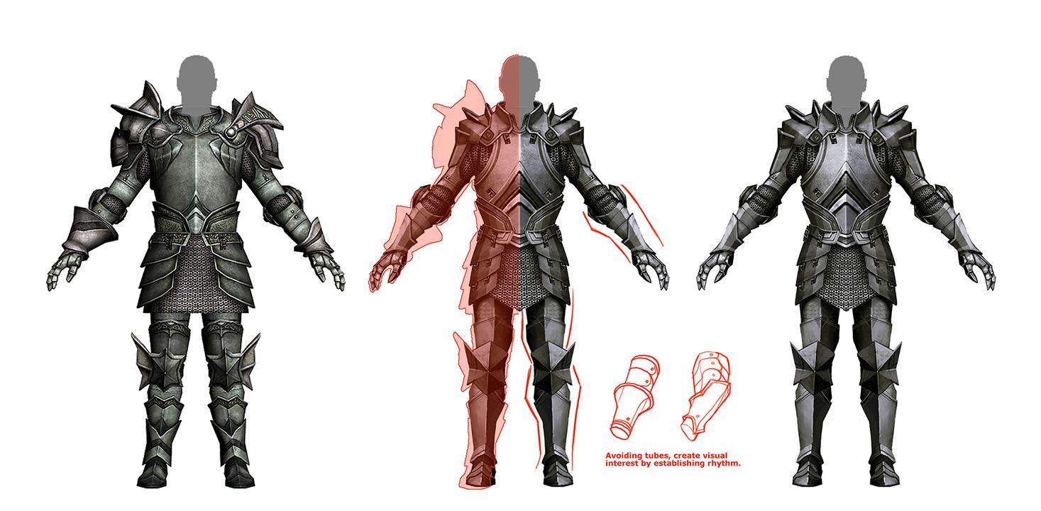 Takhle mohl původně vypadat Mass Effect a Dragon Age 85170