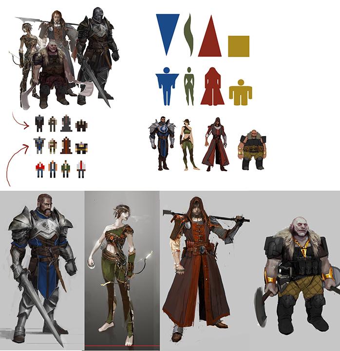 Takhle mohl původně vypadat Mass Effect a Dragon Age 85173
