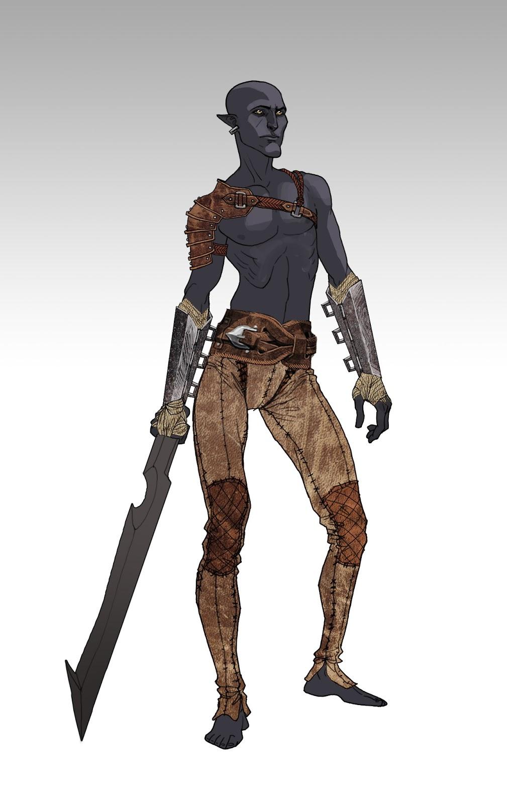 Takhle mohl původně vypadat Mass Effect a Dragon Age 85175
