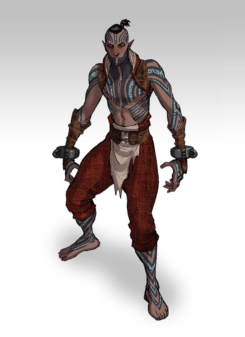 Takhle mohl původně vypadat Mass Effect a Dragon Age 85177