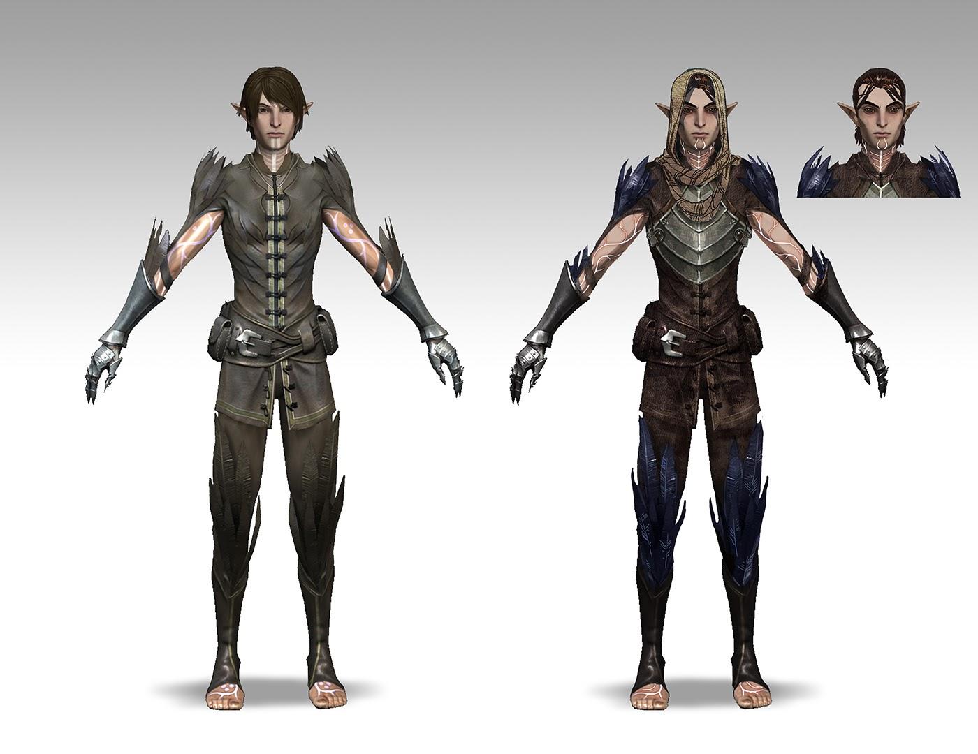 Takhle mohl původně vypadat Mass Effect a Dragon Age 85179