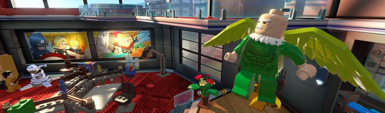 Obrázky z Lego Marvel Super Heroes 85398