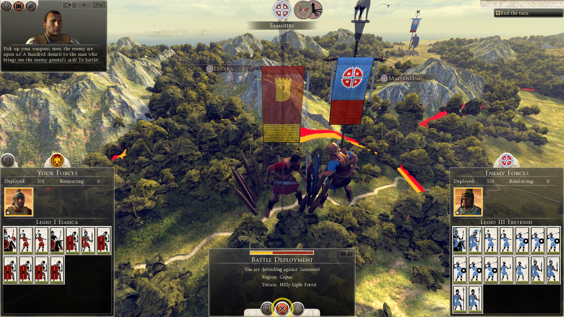Různé možnosti jak obelstít protivníka v Total War: Rome 2 85415