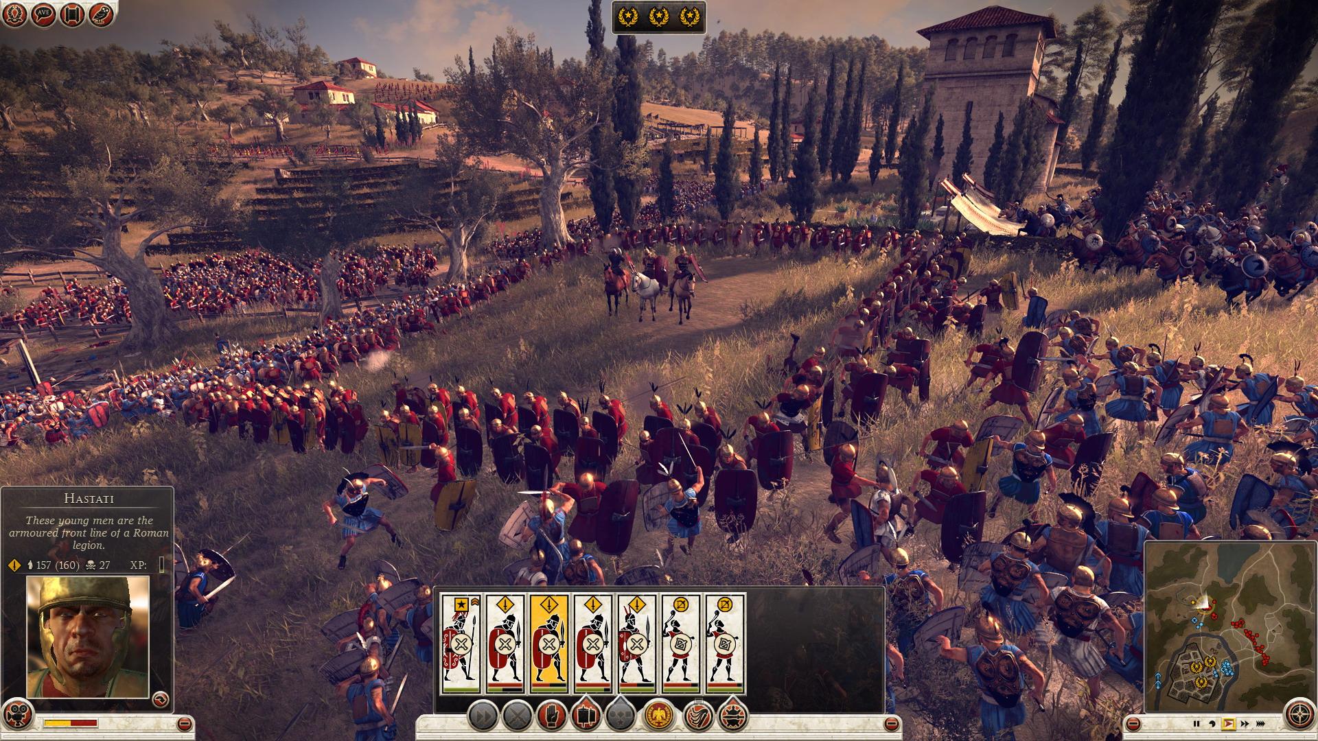 Různé možnosti jak obelstít protivníka v Total War: Rome 2 85417