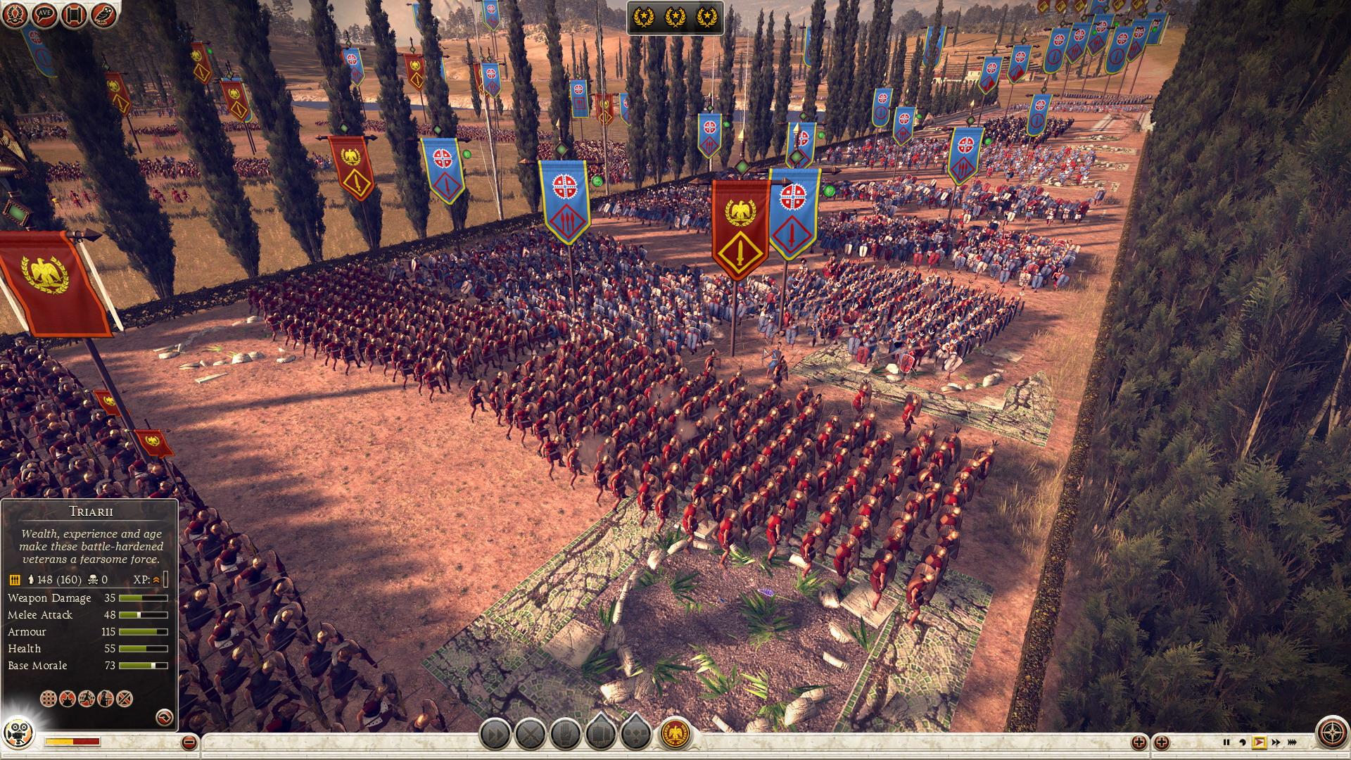 Různé možnosti jak obelstít protivníka v Total War: Rome 2 85418