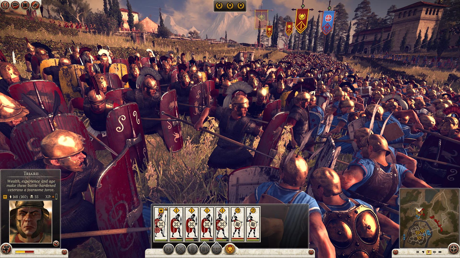 Různé možnosti jak obelstít protivníka v Total War: Rome 2 85419