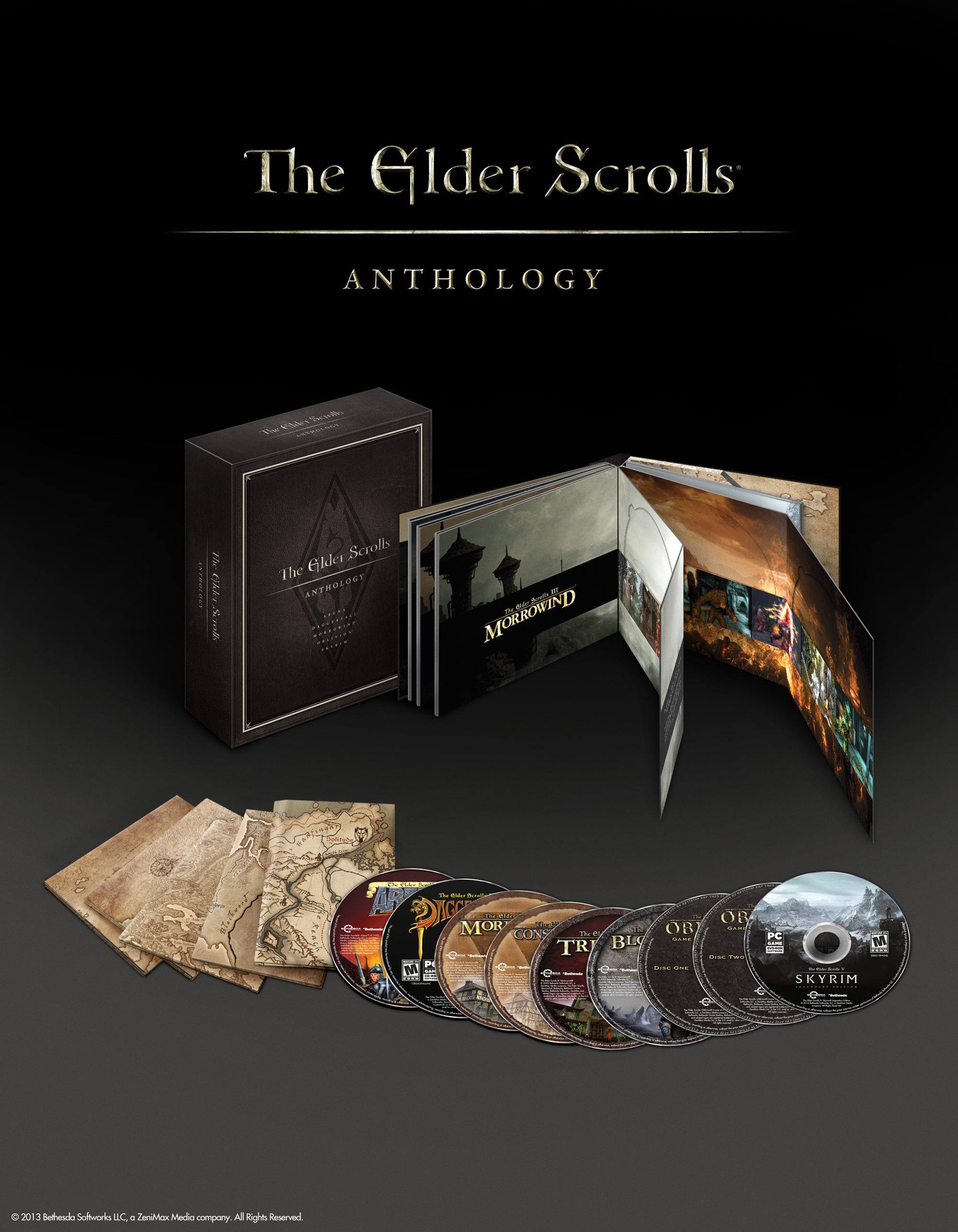 Oznámena sbírka všech dílů série Elder Scrolls, včetně datadisků 85448