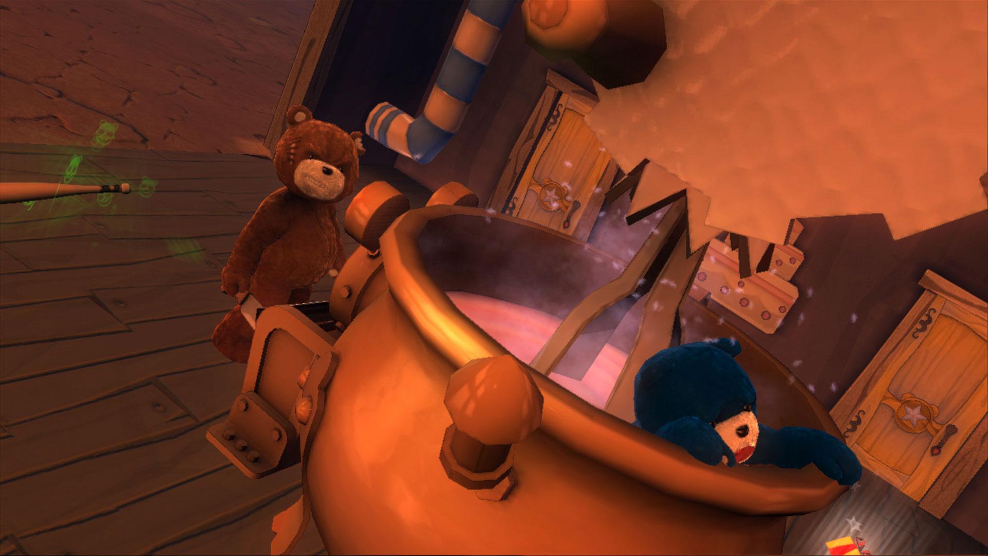 DLC pro Naughty Bear s pirátskou tématikou 8551