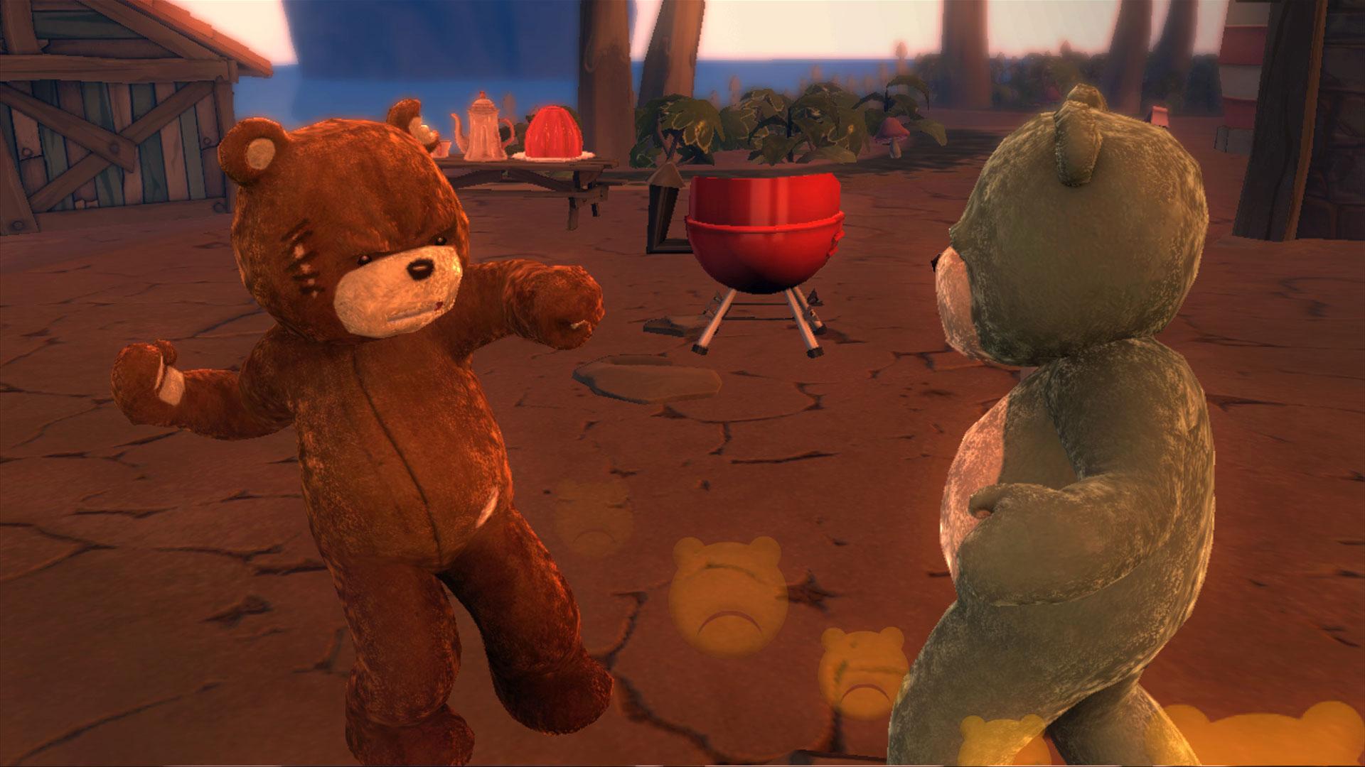 DLC pro Naughty Bear s pirátskou tématikou 8554