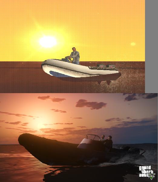 Porovnání GTA: San Andreas s GTA V 85579