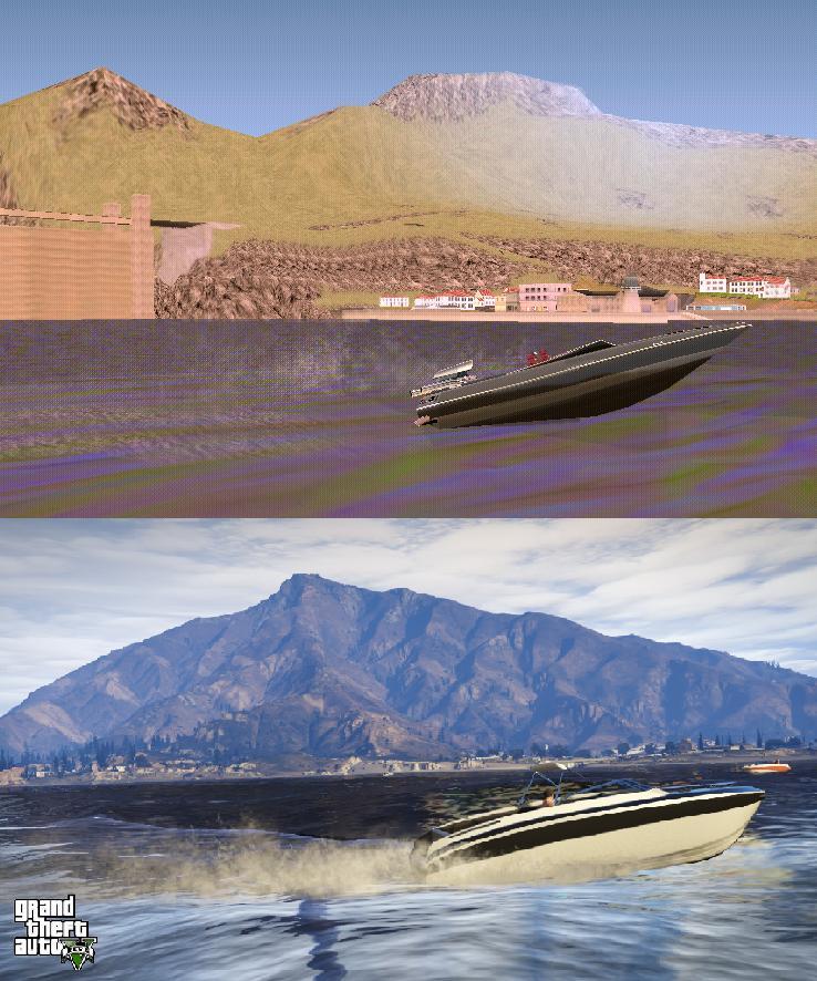 Porovnání GTA: San Andreas s GTA V 85586