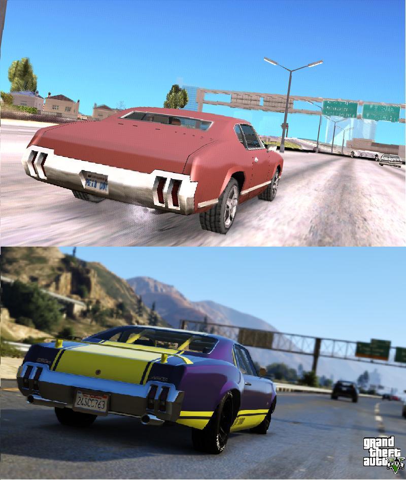 Porovnání GTA: San Andreas s GTA V 85590