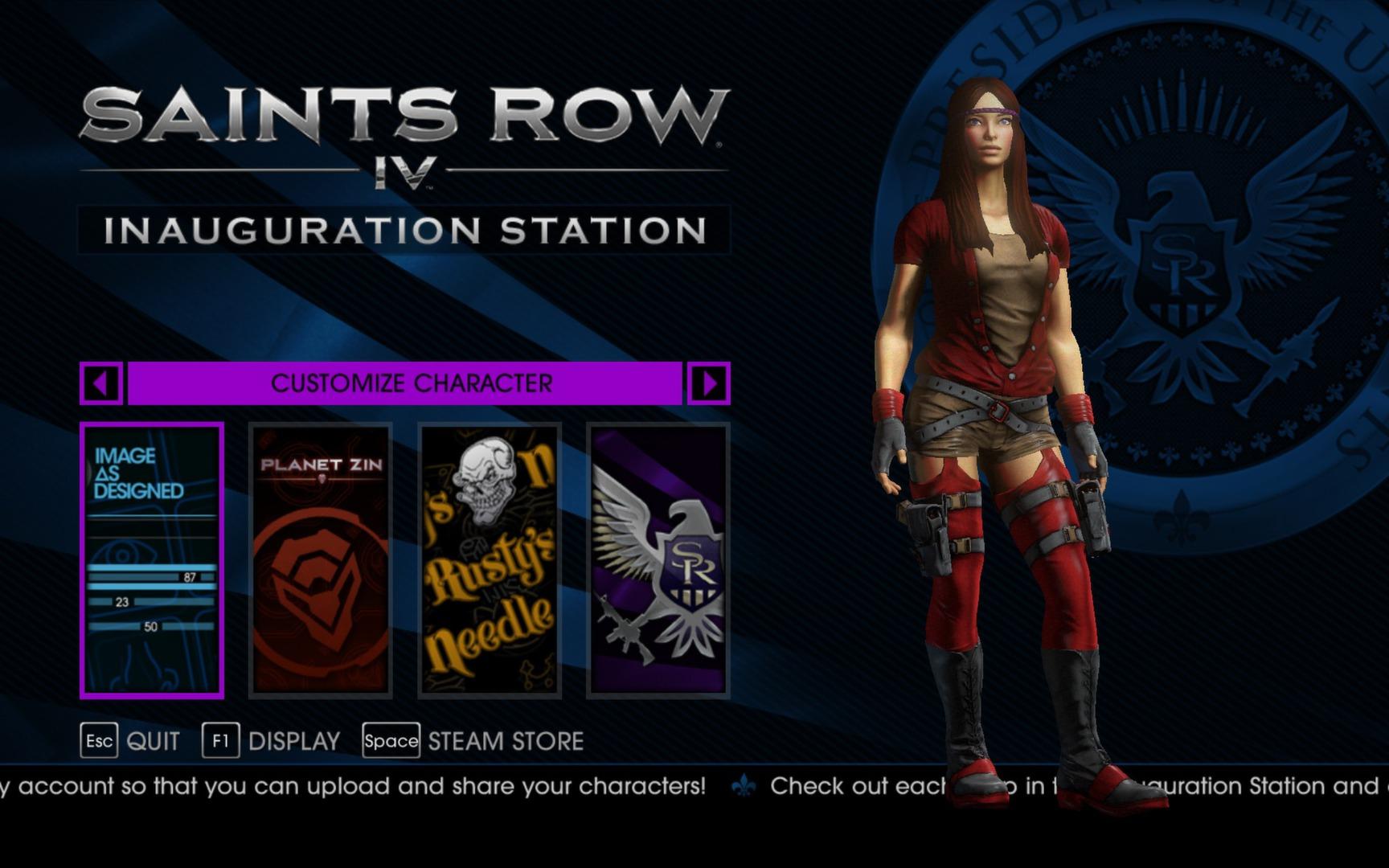 Už si můžete vytvářet postavu do Saints Row 4 85647