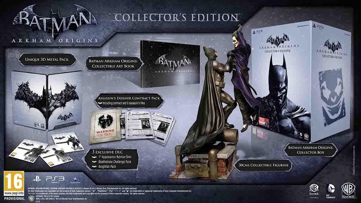 Sběratelská edici Batman: Arkham Origins oficiálně představena 85692