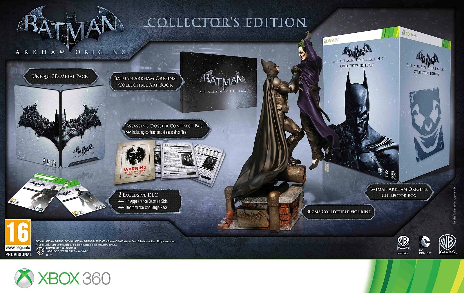 Sběratelská edici Batman: Arkham Origins oficiálně představena 85693