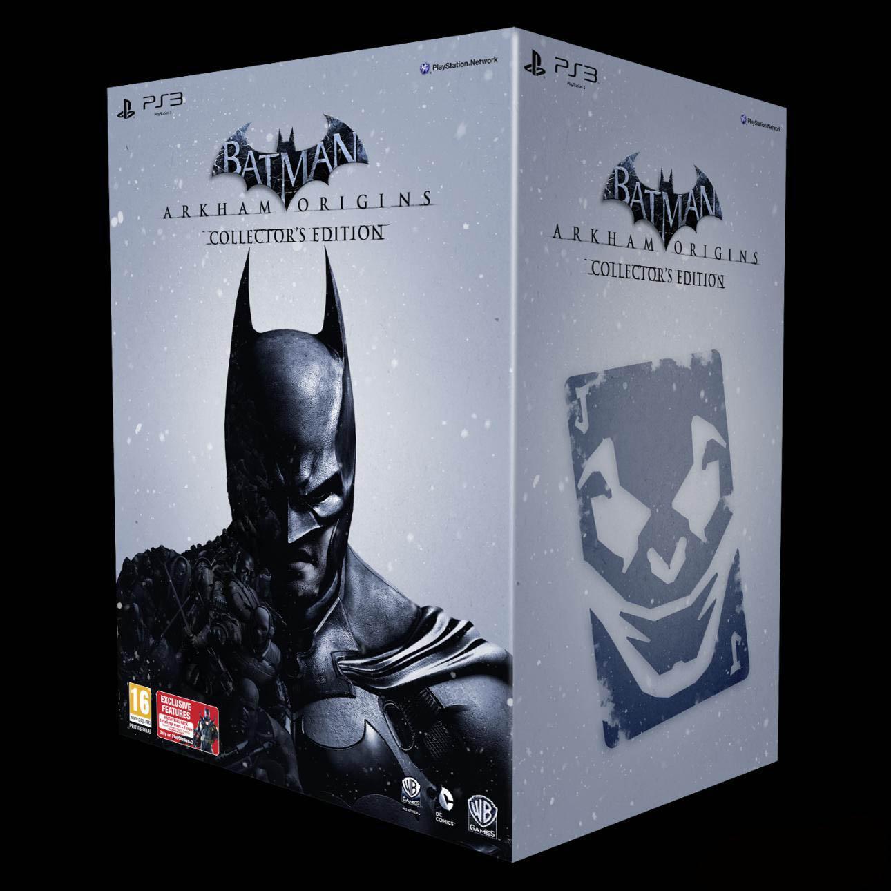 Sběratelská edici Batman: Arkham Origins oficiálně představena 85694