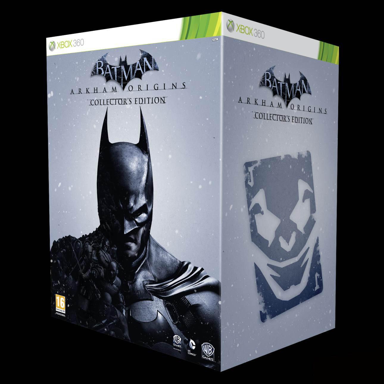 Sběratelská edici Batman: Arkham Origins oficiálně představena 85695