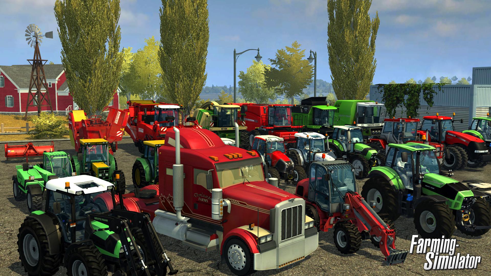 Nové obrázky z konzolové verze Farming Simulatoru 85774