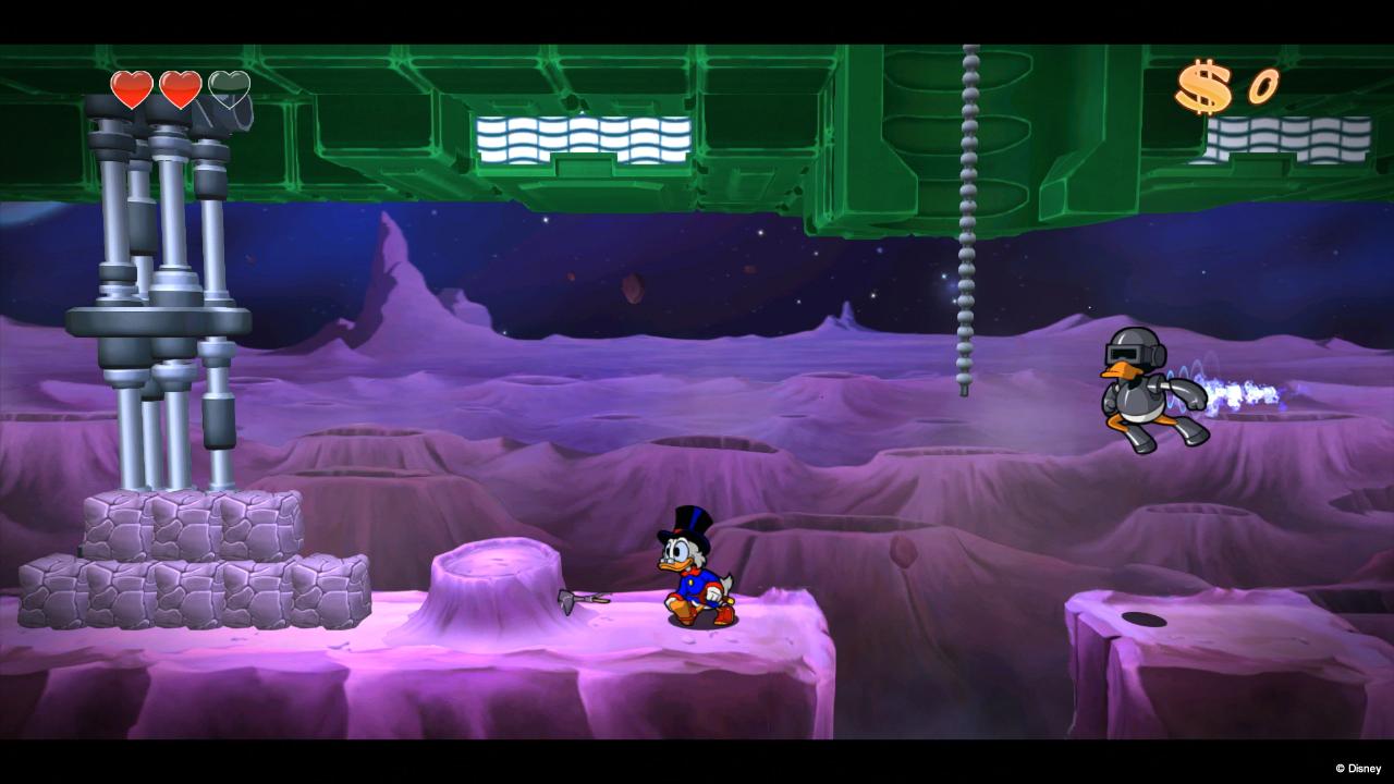Dobrodružství na měsíci v DuckTales: Remastered 85811