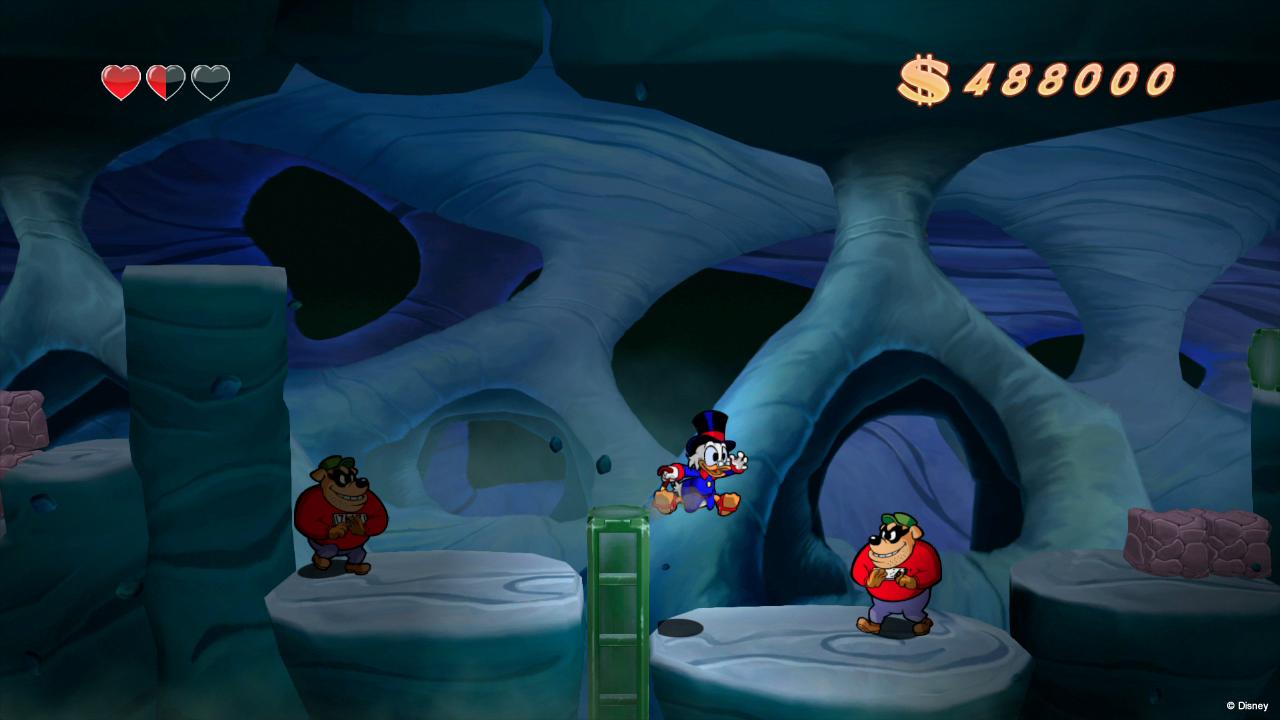 Dobrodružství na měsíci v DuckTales: Remastered 85815