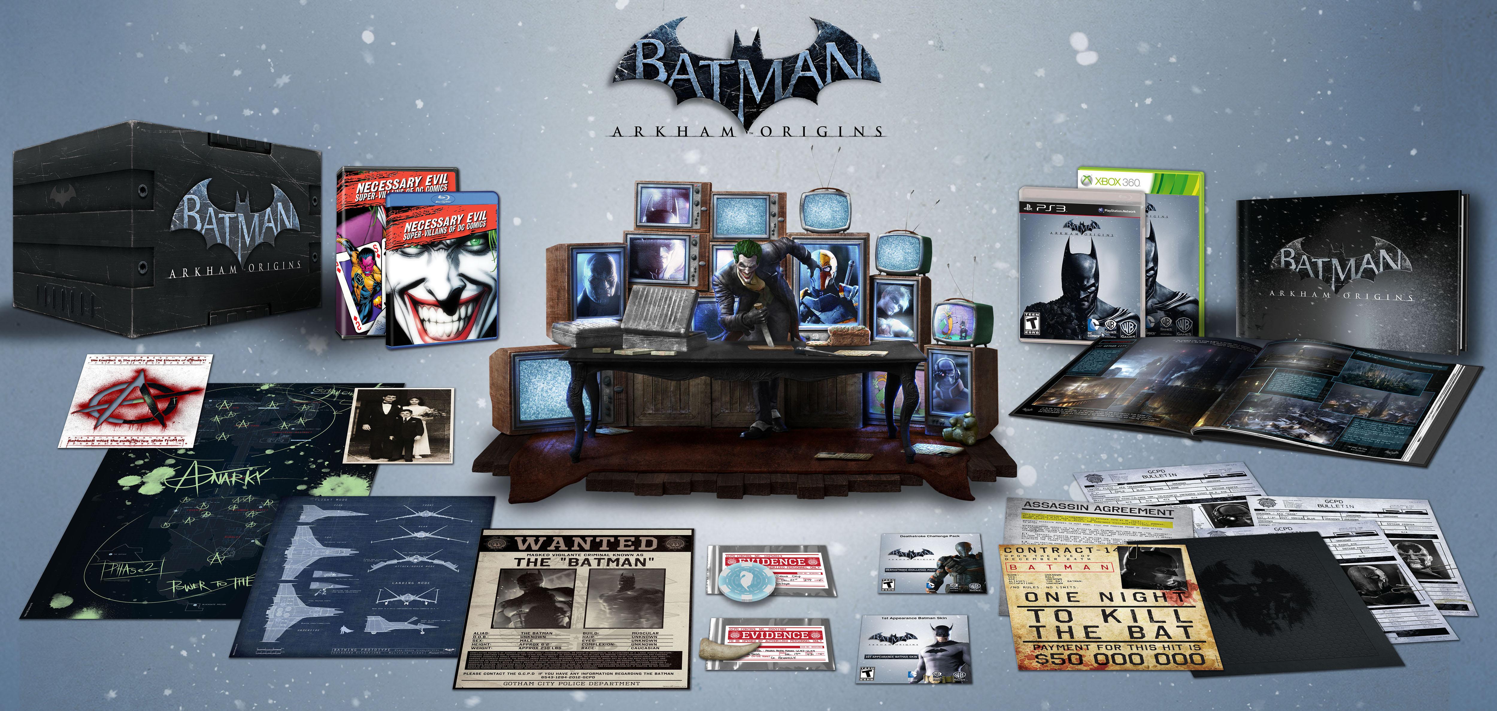 Sběratelská edice Batman: Arkham Origins pro USA 85824