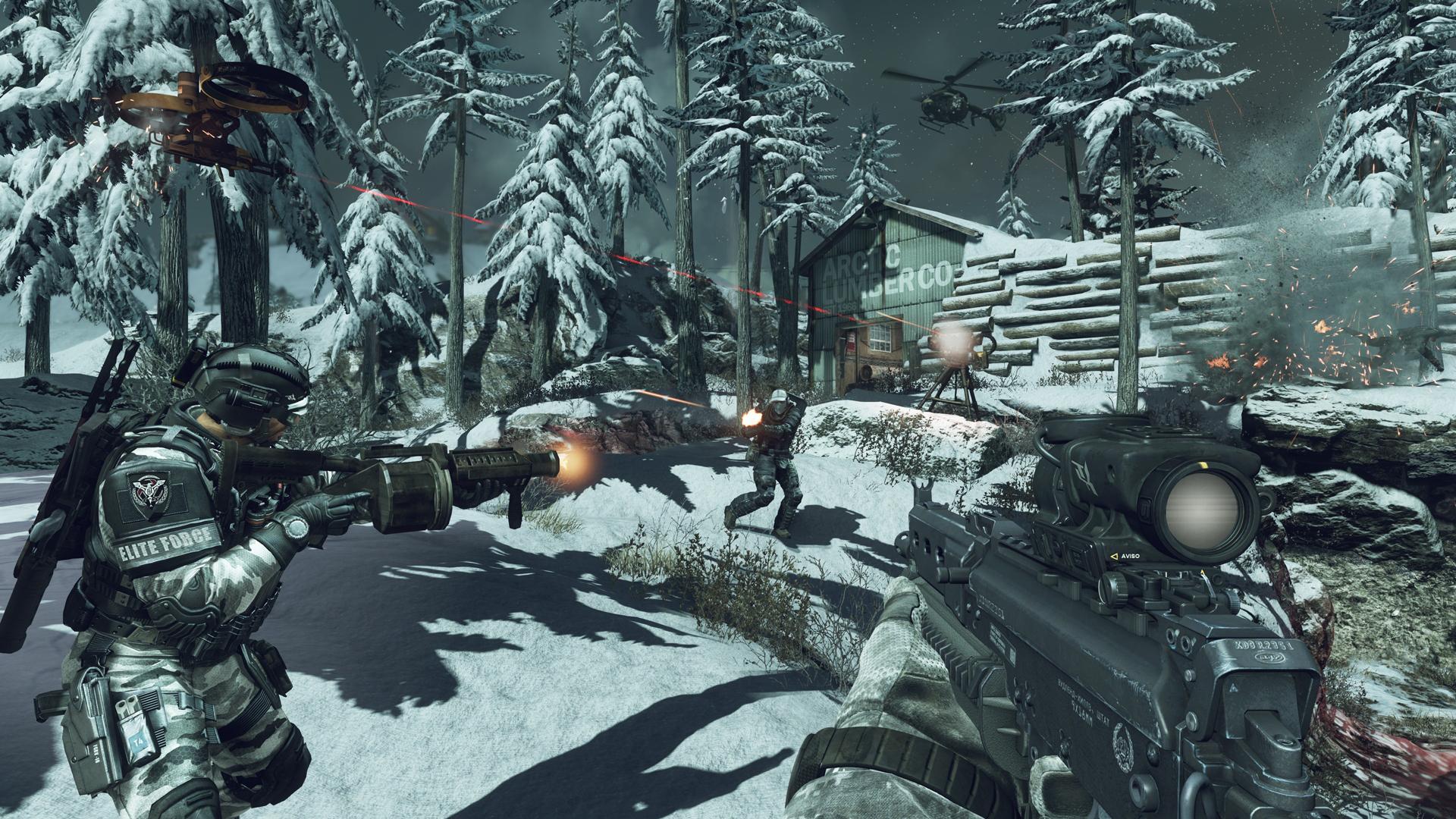 První záběry z multiplayeru Call of Duty: Ghosts 85859