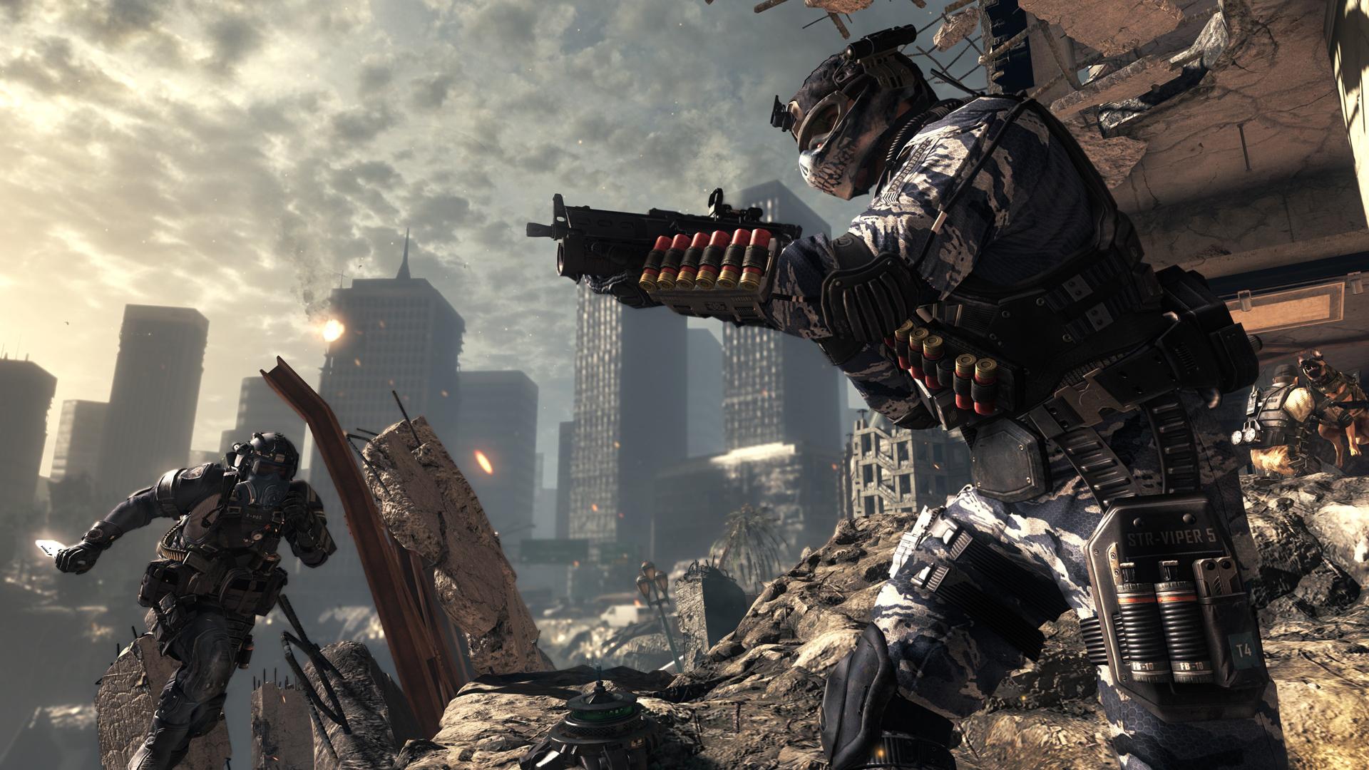 První záběry z multiplayeru Call of Duty: Ghosts 85860