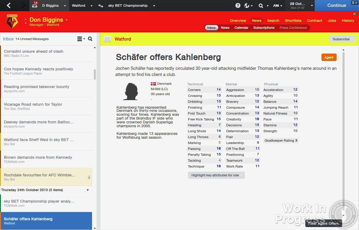 Přes 1000 vylepšení nabídne Football Manager 2014 85880