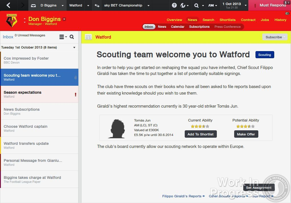 Přes 1000 vylepšení nabídne Football Manager 2014 85881