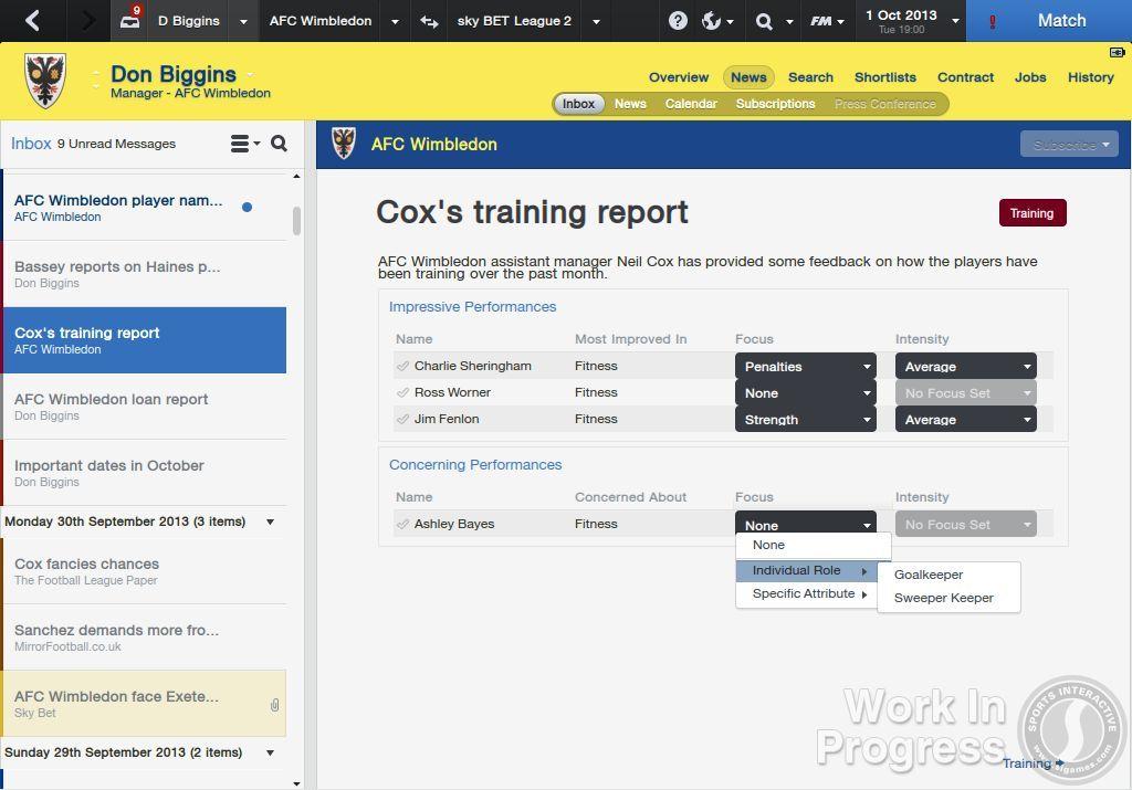 Přes 1000 vylepšení nabídne Football Manager 2014 85884