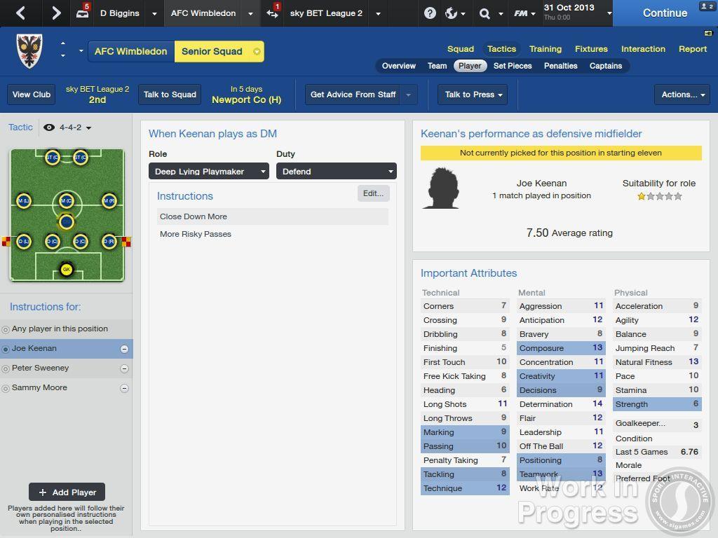 Přes 1000 vylepšení nabídne Football Manager 2014 85891