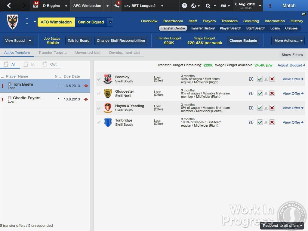 Přes 1000 vylepšení nabídne Football Manager 2014 85895